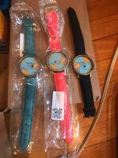 Map face watches