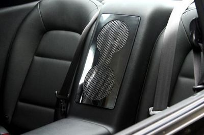 Sell ACC 161014 - 10-13 Nissan GT-R Polished Rear Speaker Trim Interior Accessories motorcycle in Hudson, Florida, US, for US $84.02