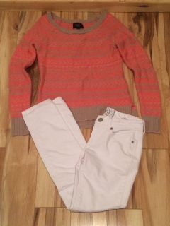 American Eagle sweater & skinny jeans