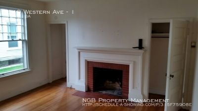Apartment Rental - 540 Western Ave
