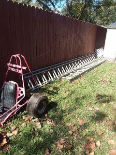 32 foot aluminum ladders