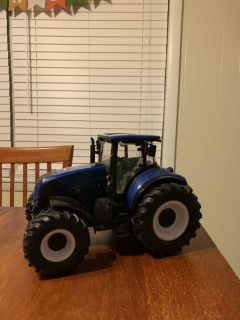 Large toy tractor