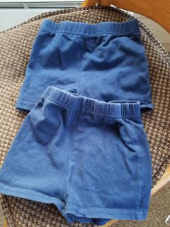 2 Blue Russell Shorts