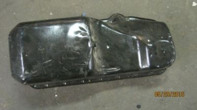 Find 1967 1966 1965 1964 Chevy II Nova V/8 oil pan 64 65 66 67 motorcycle in Shawnee, Kansas, United States, for US $99.99