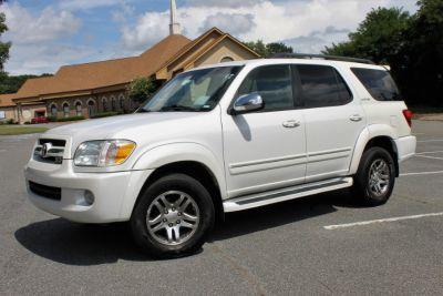 2007 Toyota Sequoia Limited (White)