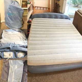 Queen Aeorbed Inflatable Mattress