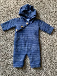 0-3M Feather Baby outfit