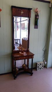Hall/Entry Table and Mirror
