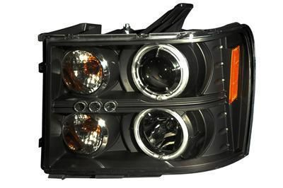 Find Anzo Headlights Projector With CCFL Halo Black Housing 2007-2012 GMC Sierra 1500 motorcycle in Tallmadge, Ohio, US, for US $392.97