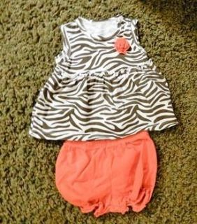 Carters 18 month top & bloomers