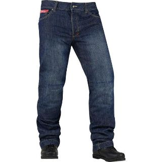 Purchase Blue W40 Icon Strongarm 2 Riding Pant motorcycle in San Bernardino, California, US, for US $105.00