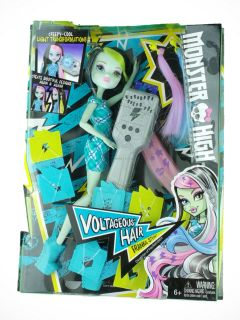 Monster High Voltageous Hair Frankie Stein Doll NIB