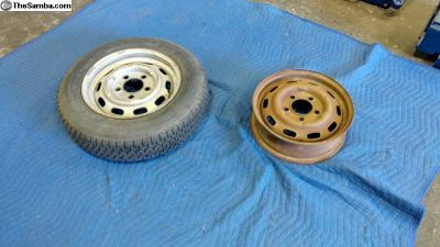 911 or 912 Steel Wheels (different sizes)