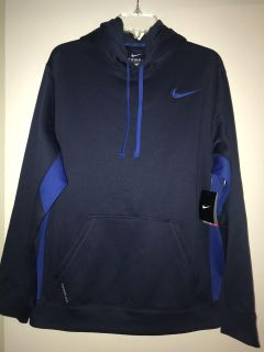 NWT NIKE MENS LARGE Hooded Pullover