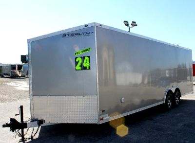 2013 USED 24' All Alum Stealth Enclosed Trailer.New Tires