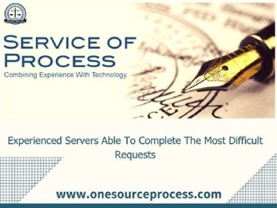 Hire process servers for service of process