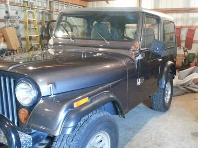 1977 Jeep Corporation AMC CJ7 Jeep Universal 4X4