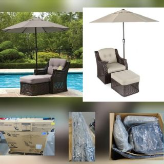 Sofa lounge chair, delivery, new