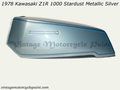 Find KAWASAKI PAINT 1978 Z1R 1000 STARDUST METALLIC SILVER RESTORATION PAINT BEST motorcycle in Marinette, Wisconsin, US, for US $159.95