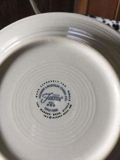Fiesta Scooby-Doo set dishes never used