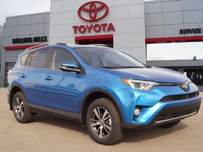 2018 Toyota RAV4 XLE (electric)