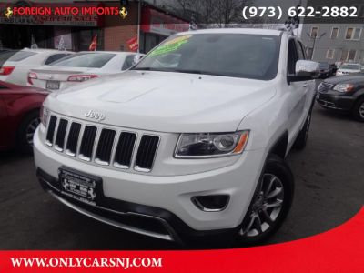 2015 Jeep Grand Cherokee 4WD 4dr Limited (Bright White Clearcoat)
