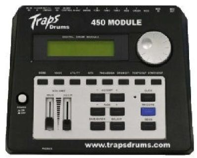 $95 TRAPS E450 Drum Module Great Condition
