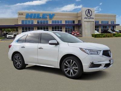 2019 Acura MDX (Diamond White Pearl)