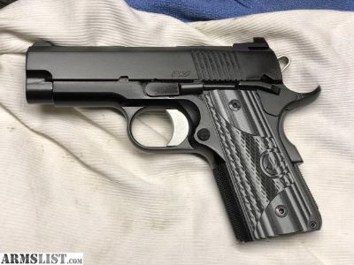 For Sale: Dan Wesson Eco 9mm