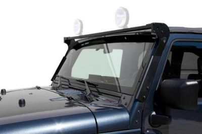 Sell CARR 210661 - 97-06 Jeep Wrangler Black XRS Rota Light Bar motorcycle in Temecula, California, US, for US $176.39