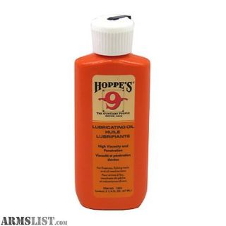 For Sale: Hoppes Lubricating Liquid Oil Gun Cleaning 2.25 oz 10/Pack Squeeze Bottle 1003