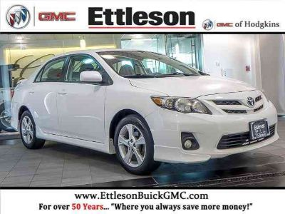 Used 2011 Toyota Corolla 4dr Car