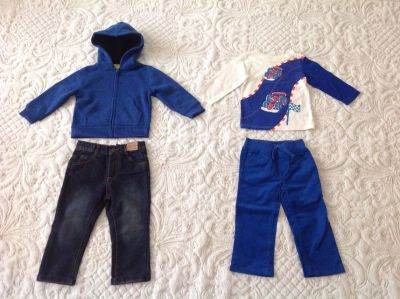 NEW WITH TAGS BABY/TODDLER BOY CLOTHES LOT, SIZE 18-24 MONTHS