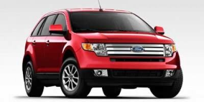 2010 Ford Edge SEL (Red Candy Metallic Tint)