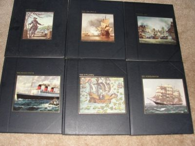 "VINTAGE ""THE SEAFARERS"" TIME-LIFE BOOKS SET OF 6"