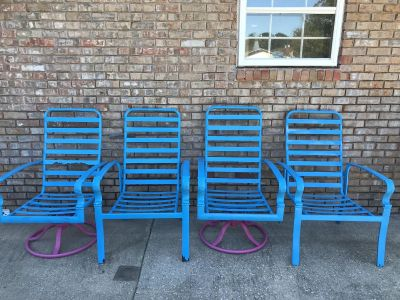 GUC Outdoor Patio / Deck Furniture Chairs