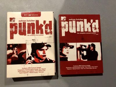 Punk d season one and two DVD like new