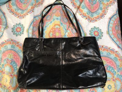 HOBO International black leather tote