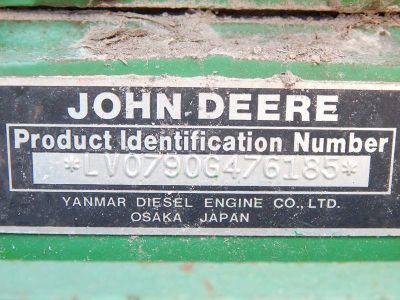 $7,500, 2000 John Deere 790 Tractor