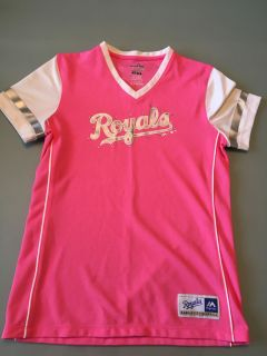 Girls new royals shirt by Majestic