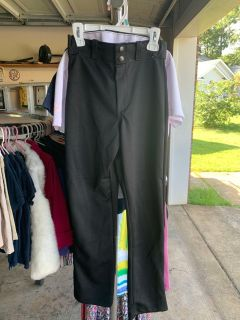 Rawlings baseball pants, black, size youth M, never been worn!