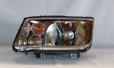 Sell 99-02 VOLKSWAGEN JETTA w/ FOG LAMP HEAD LIGHT TYC LEFT motorcycle in Grand Prairie, Texas, US, for US $53.23
