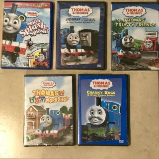 Lot of Thomas the Train DVDs Some New