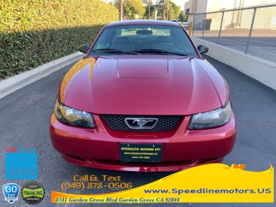 2004 Ford Mustang Base (40th Anniversary Crimson Red)