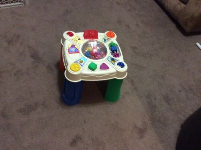PLASTIC ACTIVITY TABLE