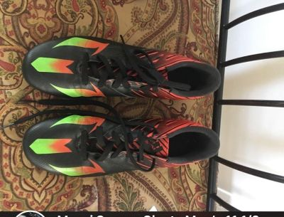 Messi Soccer Cleats size 11 1/2 Mens