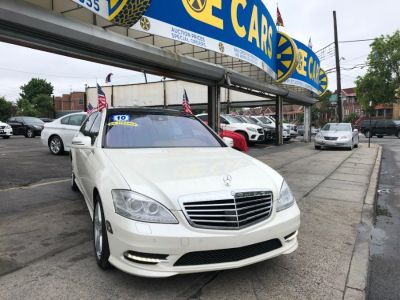 2010 Mercedes-Benz S-Class S550 4MATIC (White)