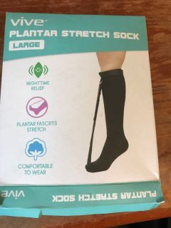 New Vive Plantar Fasciitis Stretch Night Sock