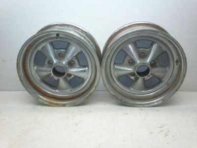 Sell CRAGAR SS 15x6 uni lug CAMARO S10 WHEELS WHEEL X2 PAIR 5x4.50 / 5x4.75 / 5x5 motorcycle in Bedford, Ohio, US, for US $49.99