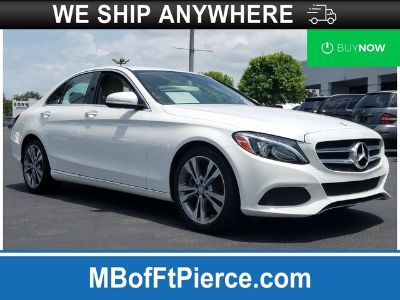 2015 Mercedes-Benz C300 (WHITE)
